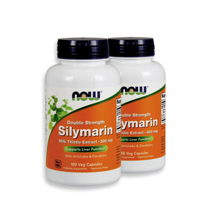Nowfood Silymarin Double Strength 300mg 100 Veggie Capsules