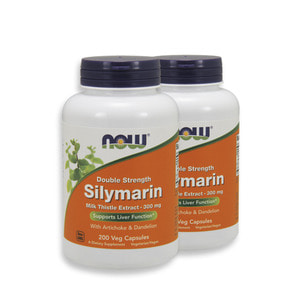 Nowfood Silymarin Double Strength 300mg 200 Veggie Capsules