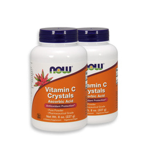 Nowfood VitaminC Crystals Powder 8OZ