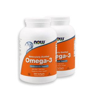 Nowfood Omega-3 500 Softgels