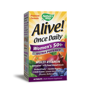 Alive Once Daily 50s + Multi Vitamin Ultra Potency 60 Tablets