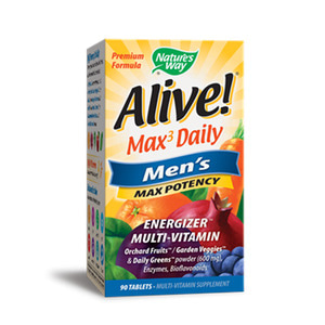Alive Men`s Max Potency 90 Tablet