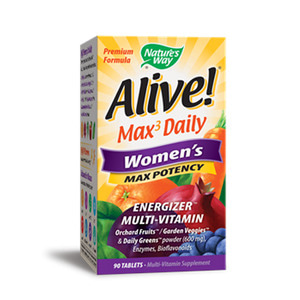 Alive Women`s Max Potency 90 Tablet