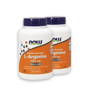 Nowfood L-Arginine Double Strength 1000mg 120Tablets